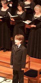 boy soprano Jake Lucas