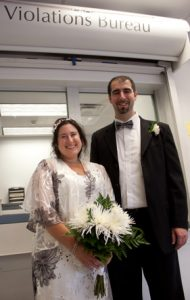 Wedding at the violations bureau hackensack nj