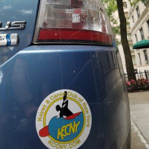 decals on my prius in front of ny apt.